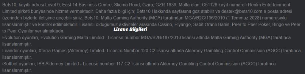 Best10 lisans bilgileri, Best10 güvenilir mi?, Best10 yasal mı?