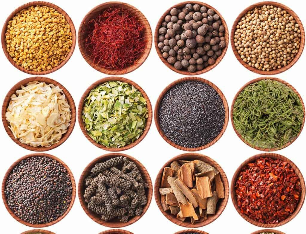 evde kullanılan baharatlar, baharat kullanımı, evde bulundurulması gereken baharatlar
