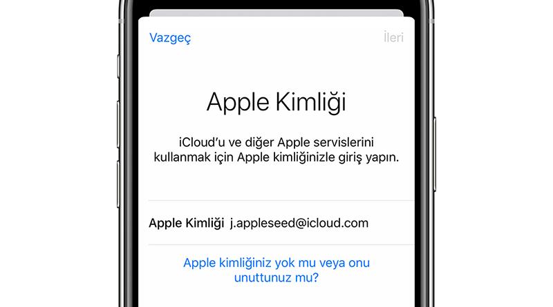 apple şifresi değiştirme, apple kimliği şifresi, apple kimliği şifresi değiştirme